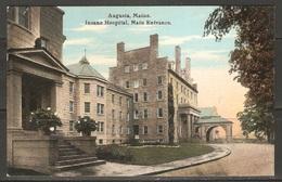 Carte P ( New York City / Insane Hospital ) - Enseñanza, Escuelas Y Universidades