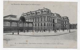 SAINT QUENTIN - N° 36 - LES HALLES CENTRALES ET LE PALAIS DE JUSTICE - CPA NON VOYAGEE - Saint Quentin