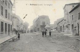Balbigny (Loire) - Le Carrefour - Edition Vve Maymat - Carte Animée N° 17 - France