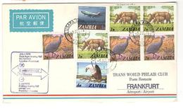 3425 - LUSAKA / FRANFORT - Zambie (1965-...)
