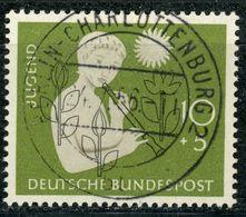 """Nr. 233 Mit Zentrischem Vollstempel """"Berlin-Charlottenburg"""" - [7] République Fédérale"""