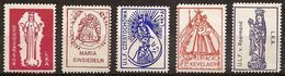 France 1989 - Religious Labeles : Virgin Mary - MNH** - Religión & Esoterismo