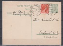 Luxemburg Lot 9 Ganzsachen Aus MiNo. P 63 Bis P 104A O Teils ZuF Und 1 GA Rs Zudruck Villeroy & Boch - Stamped Stationery