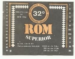"Romania, ""Rhum"", '80s. - Rhum"