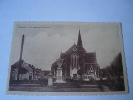 Kasterlee - Casterle // De Kerk Met Voorplein (automobile) 19?? - Kasterlee