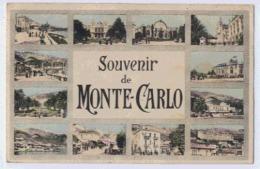 SOUVENIR DE MONTE-CARLO CARTE MULTIVUES - Monte-Carlo