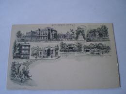 Antwerpen - Anvers // Litho // Jardin Zooligique - Dierentuin // Ca 1899 - Antwerpen