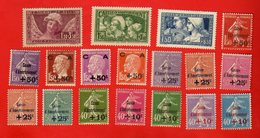 Lot De 18 Timbres FRANCE Neufs - Collections