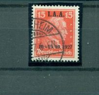 Deutsches Reich, I. A. A. Auf D. Reich-Marke. Mi.- Nr. 408 Gestempelt - Deutschland