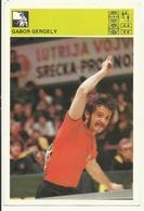 TABLE TENNIS Gabor Gergely Hungary - Yugoslavia Vintage Svijet Sporta - Tischtennis