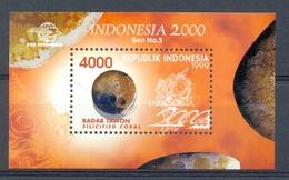 Mgm1991 MINERALEN GEMSTONES MINERALIEN UND GESTEINE MINÉRAUX INDONESIË INDONESIA 1999 PF/MNH - Mineralen