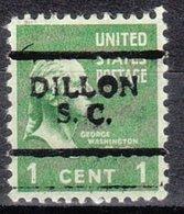 USA Precancel Vorausentwertung Preo, Locals South Carolina, Dillon 701 - Vorausentwertungen