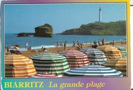64 - BIARRITZ- LA PLAGE POINTE ST SAINT MARTIN ET LE PHARE - Biarritz