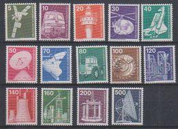 Germany 1975 Industrie & Technik 14v ** Mnh (39090) - [7] West-Duitsland