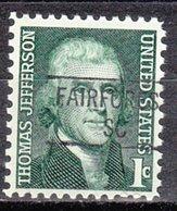 USA Precancel Vorausentwertung Preo, Locals South Carolina, Fairforest 841 - Vorausentwertungen