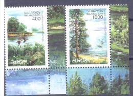 2001. Belarus, Europa 2001, 2v,  Mint/** - Belarus