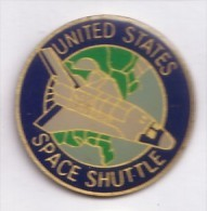 PP126 Bis Pin's Space Espace Shuttle Fusée Usa Achat Immediat - Space