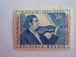 België Belgique 1958 Eugène Ysaye Componist-violist Compositeur Violoniste 1063  MNH ** - Bélgica