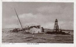 Epave Bateau - Wreck Of The Berlin - Cachet Perlé De TOULON/ALLIER (Allier) (106651) - Sin Clasificación