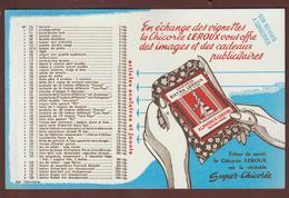 BUVARD - CHICOREE  LEROUX  à  ORCHIES. Nord  - 2 Scannes. - Coffee & Tea