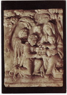 Alabaster Carving 'FLIGHT INTO EGYPT - Monastery Of Ferta, Armagh - (Workshop Nicholaes Daems, Malines, Belgium) - Armagh
