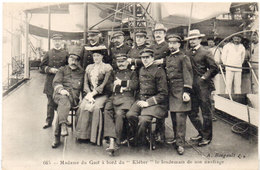 "Madame Du Gast A Bord Du ""KLEBER"" Le Lendemain De Son Naufrage   (106658) - Warships"