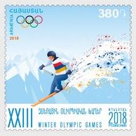 Armenië / Armenia - Postfris / MNH - Olympische Winterspelen 2018 - Armenië