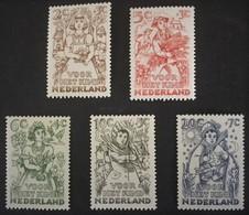 1949 Kinderzegels NVPH 544-548**) - Ungebraucht