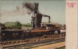 L23-  Panama - Steam Shovel At Pedro Miguel  - (2 Scans) - Panama