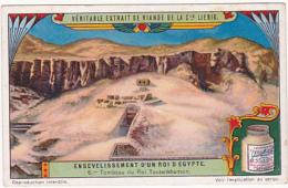 Chromo - Liebig - Ensevelissement D'un Roi D'Egypte - N°6 - Liebig