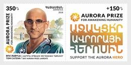 Armenië / Armenia - Postfris / MNH - Complete Set Aurora Prize 2018 - Armenië