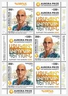 Armenië / Armenia - Postfris / MNH - Sheet Aurora Prize 2018 - Armenië