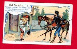 St Germain En Laye, Maison Carel, Ruaud, LeMay Succr. 25, 27 Et 29 Rue Du Vieux Marché, Chromo Don Quichotte - Chromos