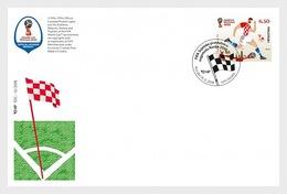 Kroatië / Croatia - Postfris / MNH - FDC WK Voetbal Rusland 2018 - Kroatië