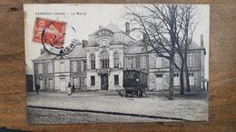CPA  VENDEUIL  ( AISNE ) - LA MAIRIE - BELLE ANIMATION - Autres Communes