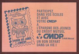 BUVARD --  CMDP - L'EPARGNE DES JEUNES DU CREDIT MUTUEL  - 2 Scannes. - Bank & Insurance