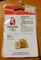 CHINA - BEIJING OLYMPIC GAMES 2008 - SEALED OFFICIAL HIGH-TECH SERIE PIN - LIMITED EDITION OF 20.000 - Apparel, Souvenirs & Other