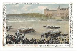 19922 - Dresden Alaun Platz Mit Dem Garde Reiter Regiment - Dresden