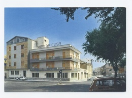PORTO TORRES -- HOTEL DA ELISA VOITURE FIAT 500 -- Dos Scanné- B14 - Other Cities