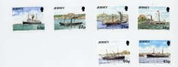 Jersey 2001-Bateaux-YT 960/5***MNH - Barcos