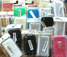 17 PCS OF IPOD TOUCH 4 COVERS - NEW NEVER USED - Other