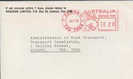 3290  Carta Zeehan 1978  Postage Paid - 1966-79 Elizabeth II