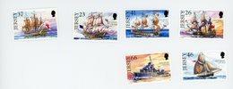 Jersey 2001Voiliers -bateaux De Guerre-YT 968/73***MNH - Ships