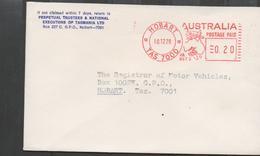 3290  Carta  Hobart  1978  Postage Paid - 1966-79 Elizabeth II