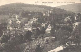 Bade-Wurtemberg - CPA - Baden-Baden - Blick Von Der Yburgstrasse - Baden-Baden