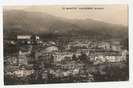 07 Saint Martin Valgorge, Vue Générale. Carte Inédite (3395) - Frankreich