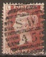 Great Britain 1858  1d Red  Plate  192 Fine Used - Used Stamps