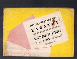 Sait Pierre De Rivière Près Foix (09 Ariège) Calendrier 1961 RESTAURANT LABATUT (PPP13289) - Calendars
