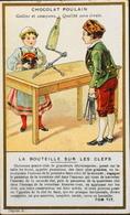 Chromo & Image - Chromo. - CHOCOLAT POULAIN - La Bouteille Sur Les Clefs - En T.B. Etat - Poulain