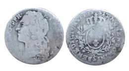 TOP RARE!!! LOUIS XV 1/10 Écu Au Bandeau 1740 (Besançon) A VOIR!! - 987-1789 Monnaies Royales